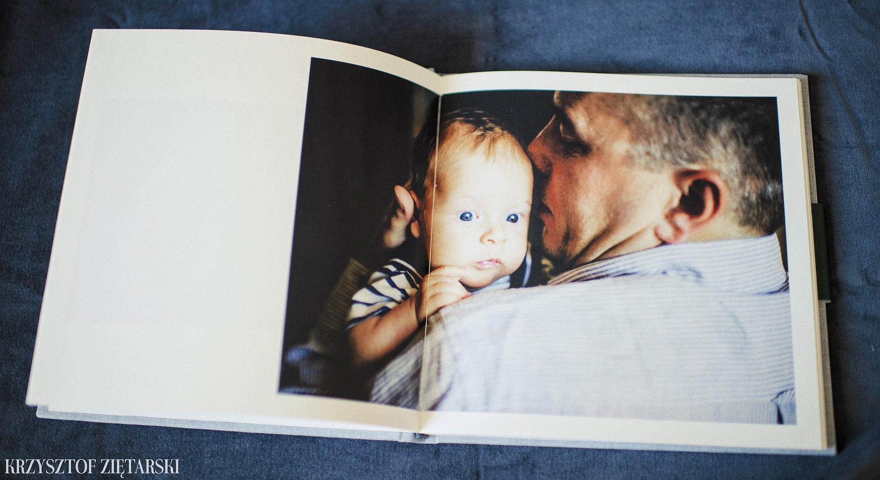 FlatBook 22x22cm, papier kremowy niepowlekany, szare płótno C12 - zdjęcia, przykłady, opinie