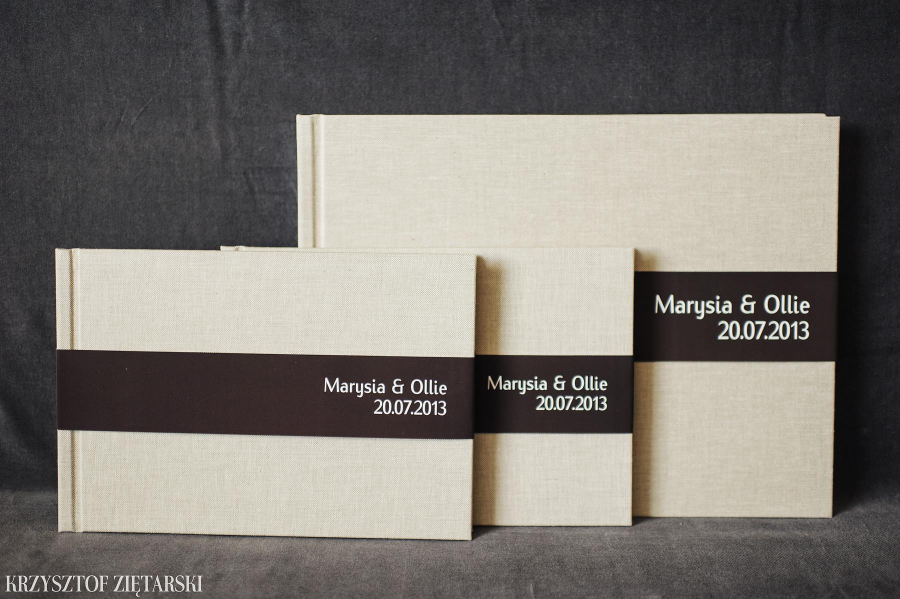 2szt. KrukBook 30x20cm 80 stron + KrukBook 40x30cm, 140 stron na kremowym papierze niepowlekanym 150g/m2, płótno lniane surowe C11, wyklejka prążkowana brązowa 003 i brązowa paskowa obwoluta