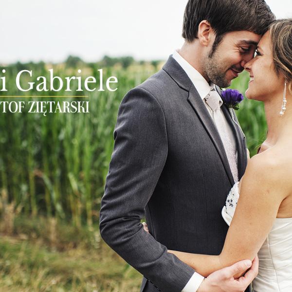 Gosia i Gabriele - Gdynia, Dar Pomorza, Wyczechowo
