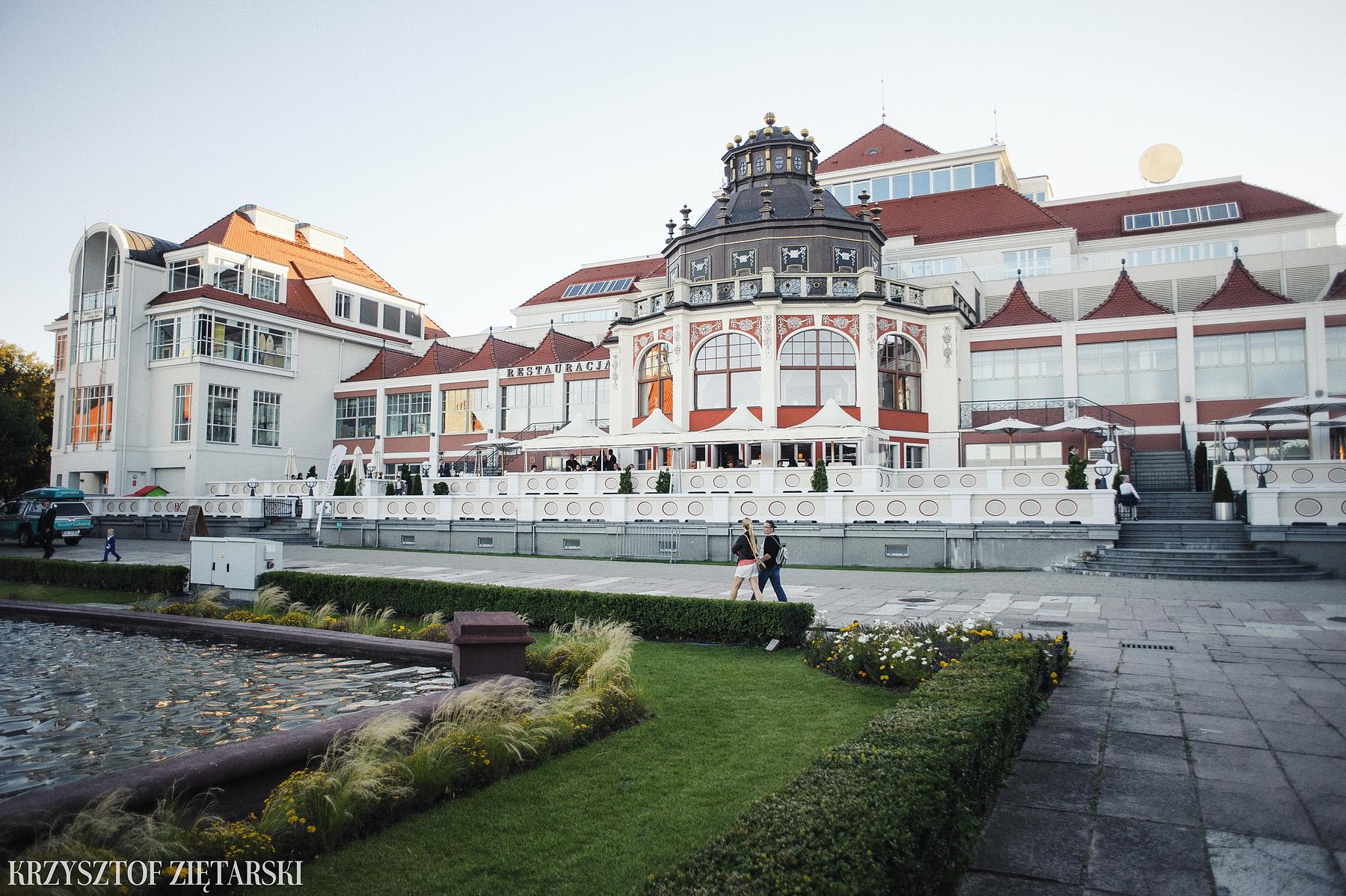 Karolina i Radek - Fotografia ślubna Gdańsk, Wesele Sheraton Sopot - 40.