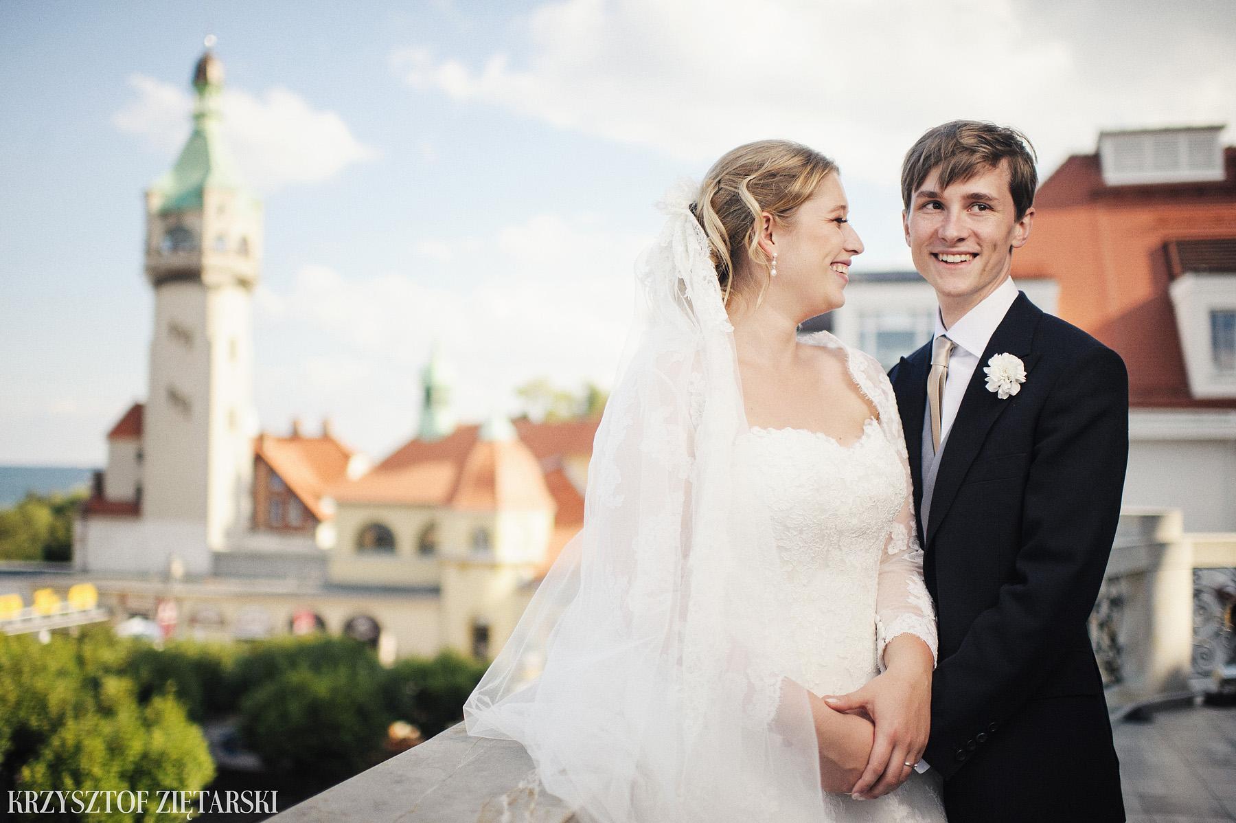 Karolina i Radek - Fotografia ślubna Gdańsk, Wesele Sheraton Sopot - 81.