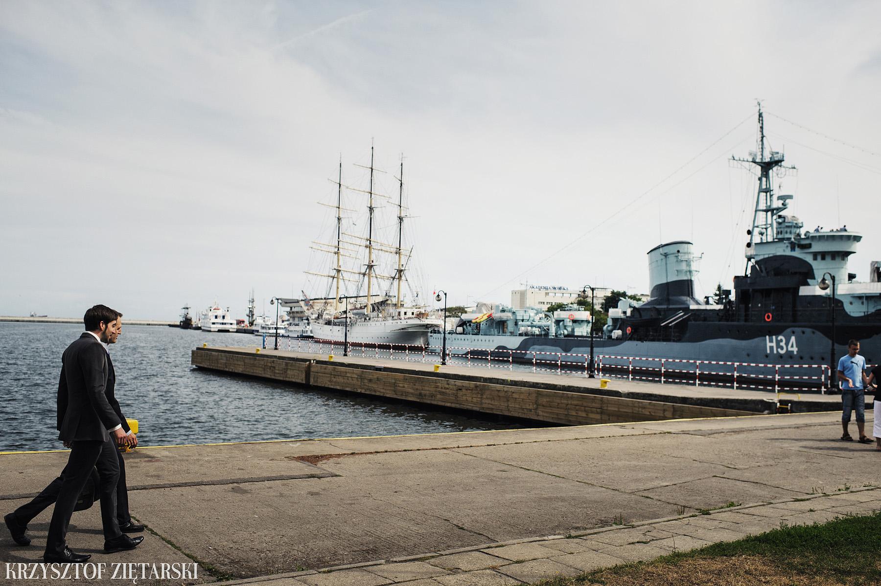 Gosia i Gabriele - Fotografia ślubna Gdynia - Dar Pomorza, Gościniec dla Przyjaciół Wyczechowo, Sea Towers - 12.