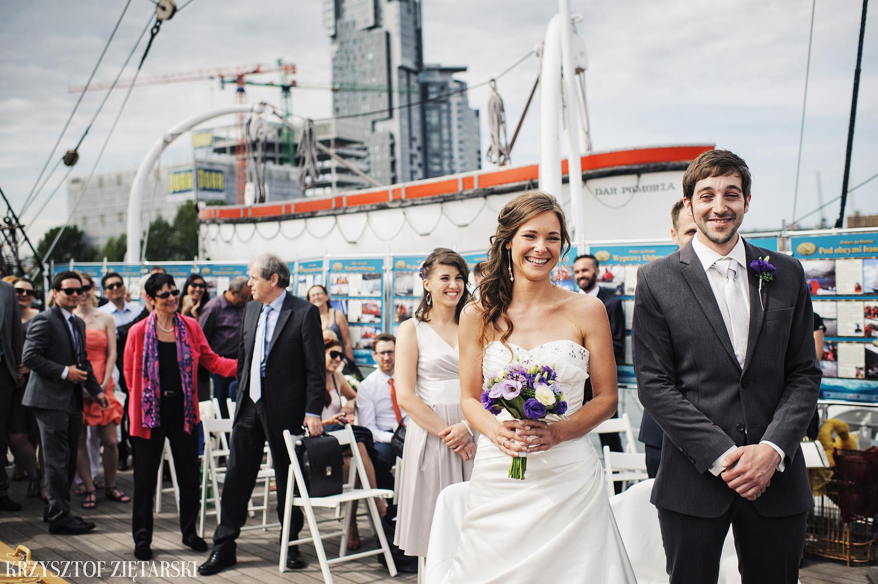 Gosia i Gabriele - Fotografia ślubna Gdynia - Dar Pomorza, Gościniec dla Przyjaciół Wyczechowo, Sea Towers - 17.