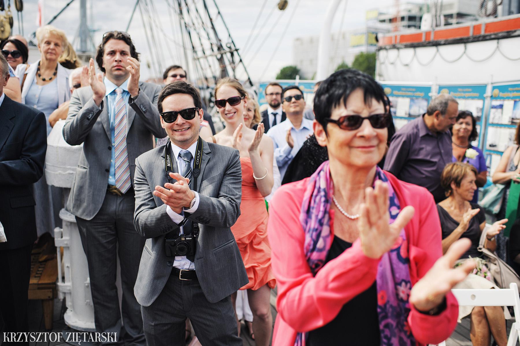 Gosia i Gabriele - Fotografia ślubna Gdynia - Dar Pomorza, Gościniec dla Przyjaciół Wyczechowo, Sea Towers - 19.