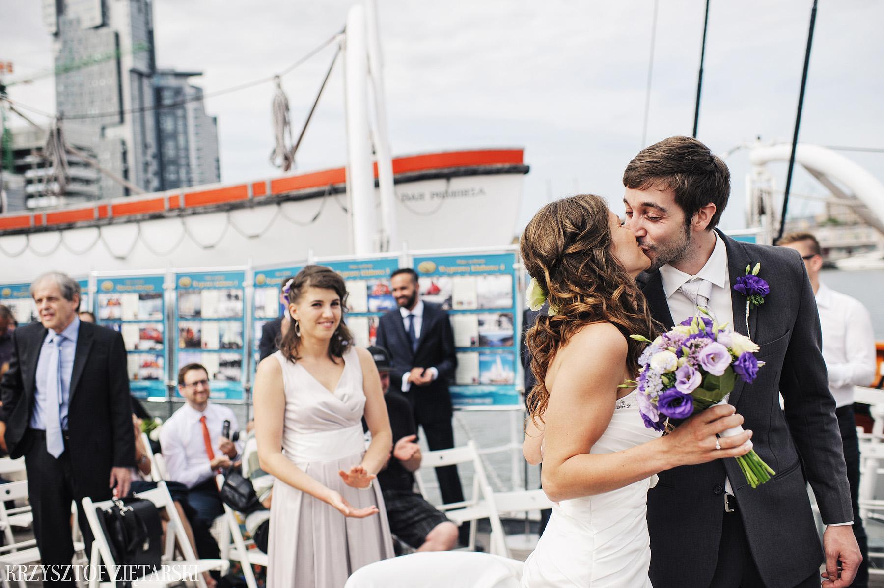Gosia i Gabriele - Fotografia ślubna Gdynia - Dar Pomorza, Gościniec dla Przyjaciół Wyczechowo, Sea Towers - 20.