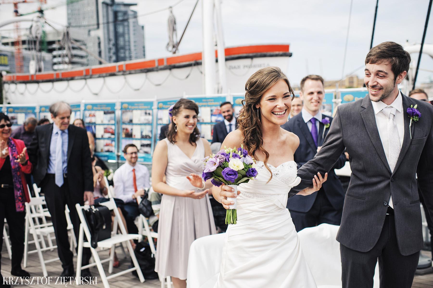 Gosia i Gabriele - Fotografia ślubna Gdynia - Dar Pomorza, Gościniec dla Przyjaciół Wyczechowo, Sea Towers - 21.