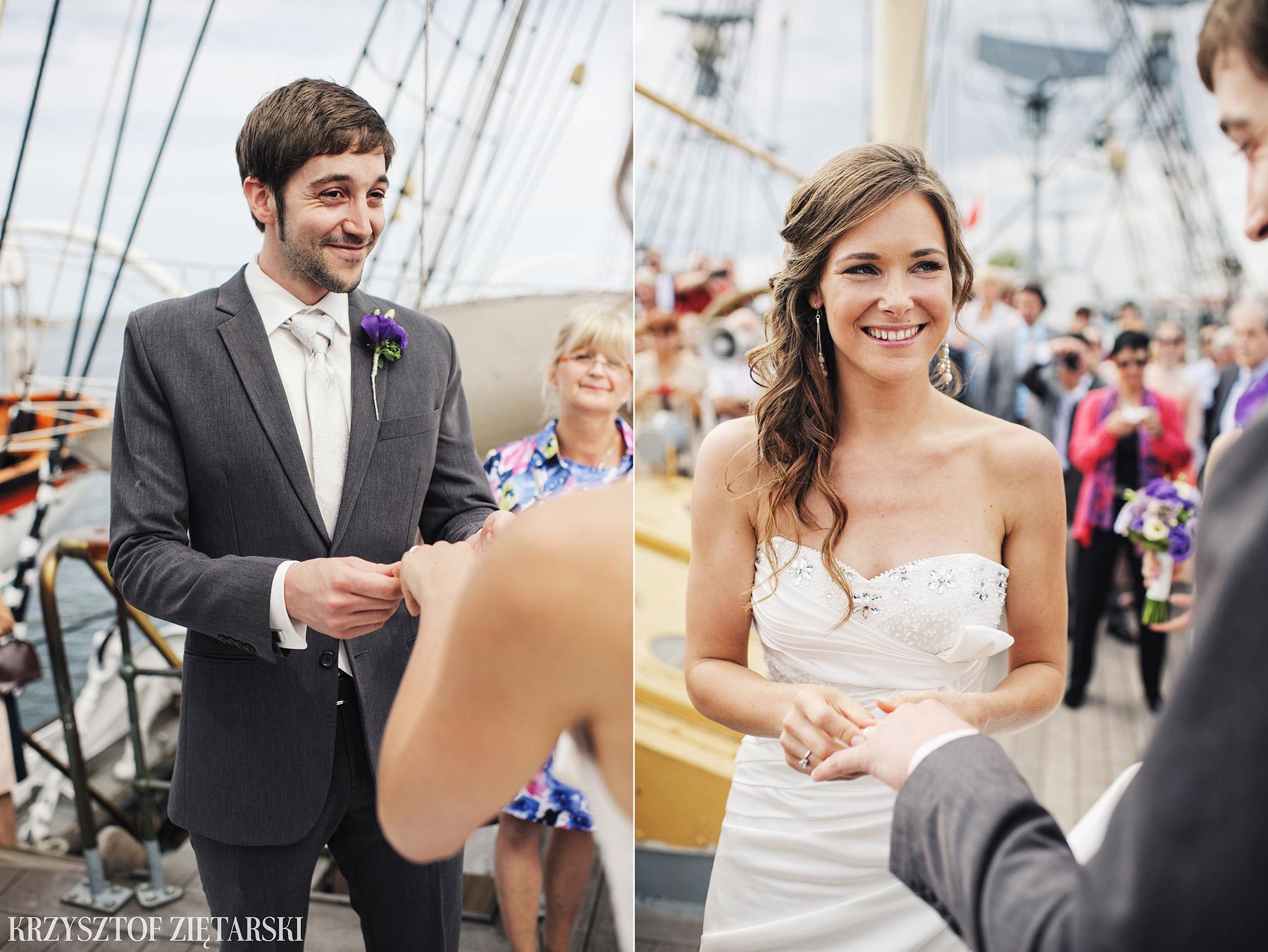 Gosia i Gabriele - Fotografia ślubna Gdynia - Dar Pomorza, Gościniec dla Przyjaciół Wyczechowo, Sea Towers - 22.