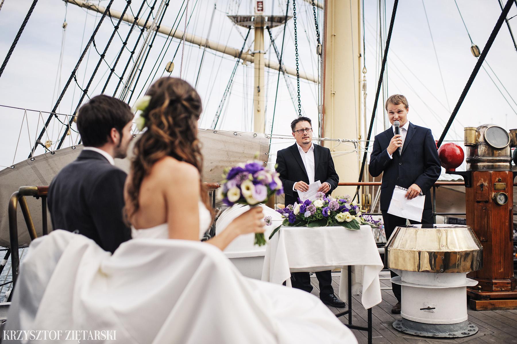 Gosia i Gabriele - Fotografia ślubna Gdynia - Dar Pomorza, Gościniec dla Przyjaciół Wyczechowo, Sea Towers - 24.