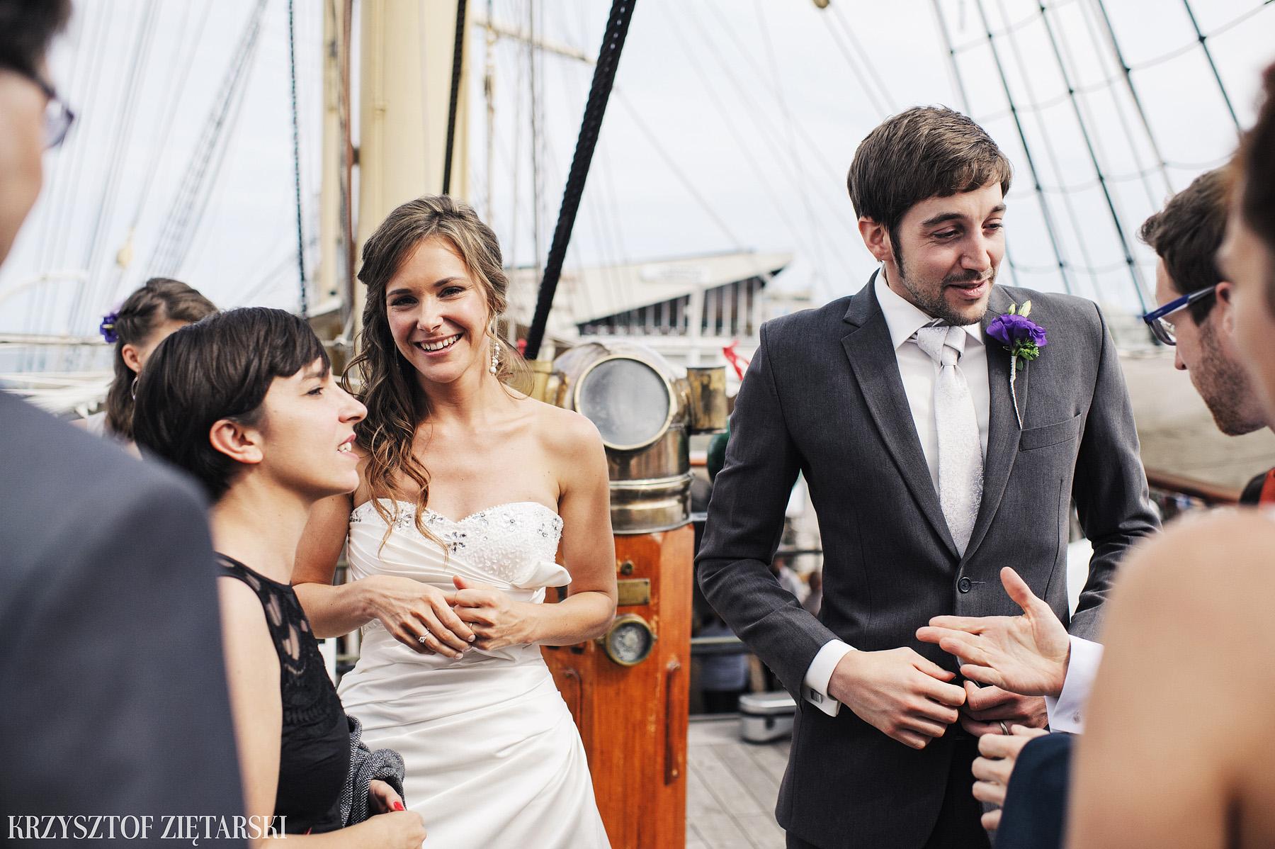 Gosia i Gabriele - Fotografia ślubna Gdynia - Dar Pomorza, Gościniec dla Przyjaciół Wyczechowo, Sea Towers - 30.