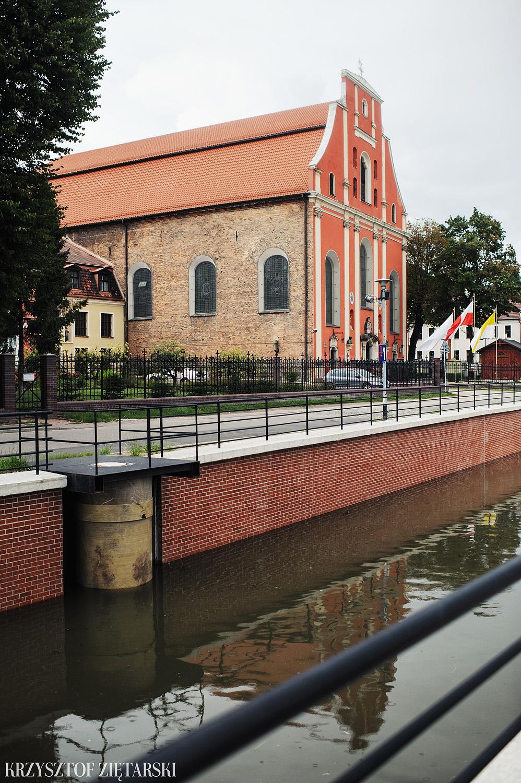 Justyna i Konrad - Fotografia ślubna Gdańsk, Kościół św.Ignacego Stare Szkoty, Restauracja Tabun Otomin - 1.