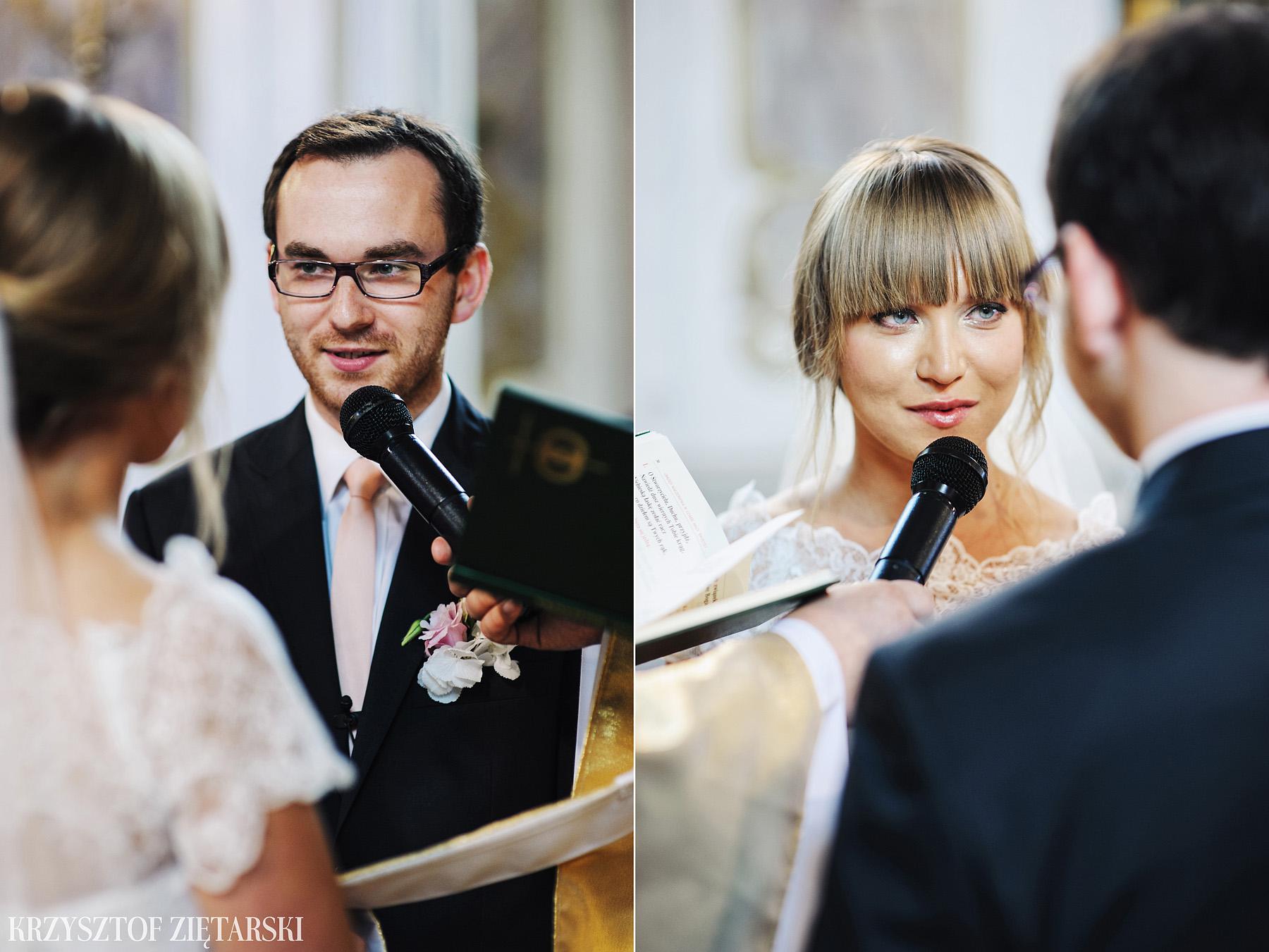 Justyna i Konrad - Fotografia ślubna Gdańsk, Kościół św.Ignacego Stare Szkoty, Restauracja Tabun Otomin - 8.