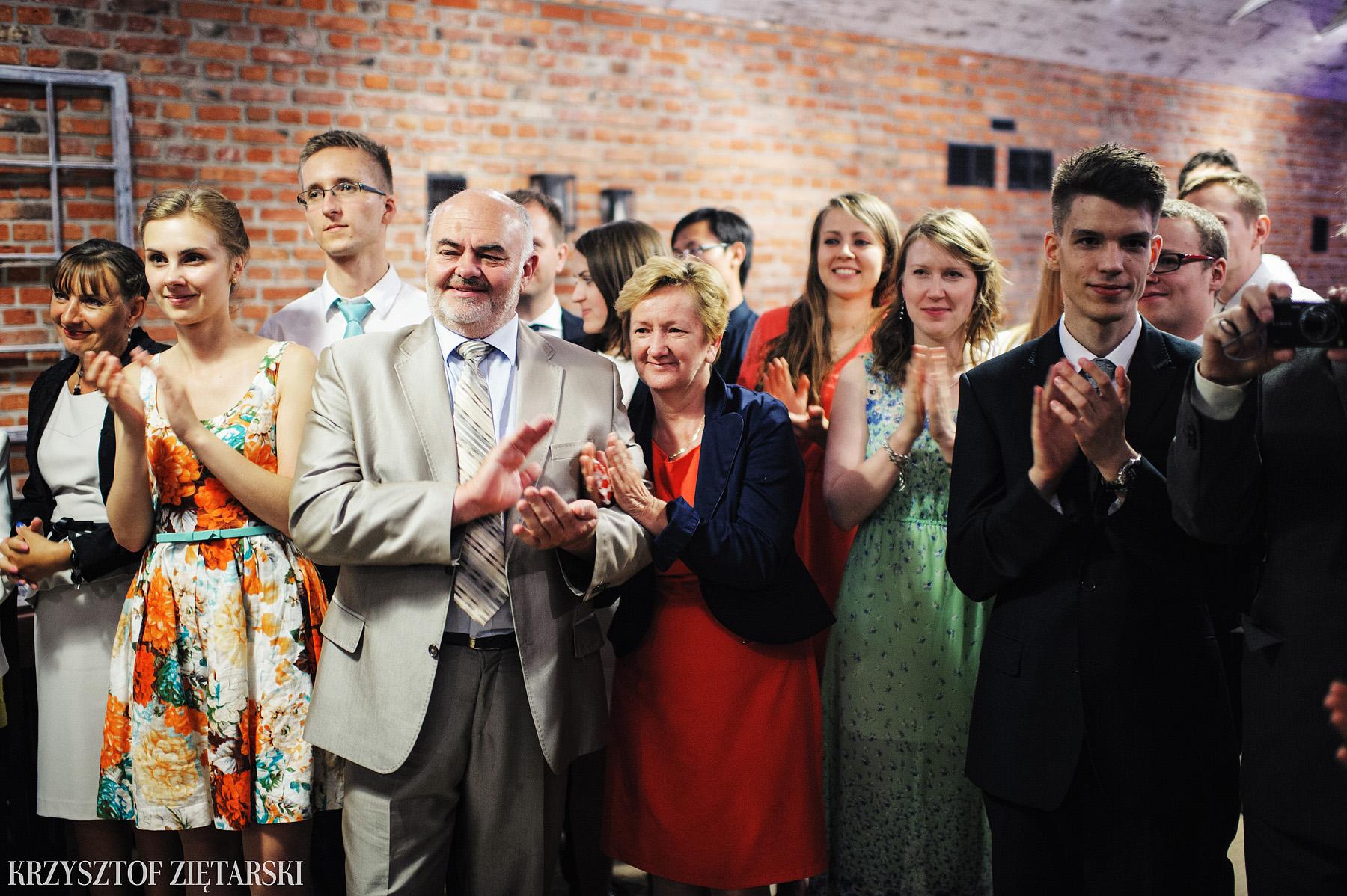 Justyna i Konrad - Fotografia ślubna Gdańsk, Kościół św.Ignacego Stare Szkoty, Restauracja Tabun Otomin - 77.
