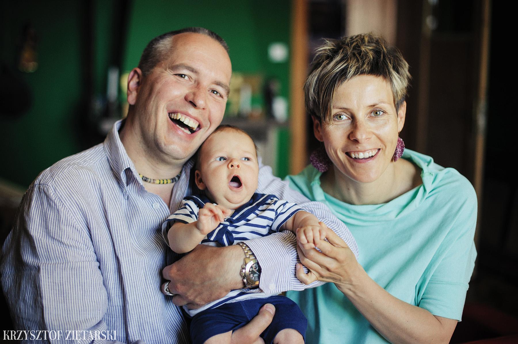 Ania, Karol i Oskarek - Fotografia rodzinna Gdynia - rodzinna sesja fotograficzna w prezencie - 3.