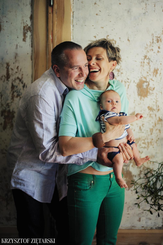 Ania, Karol i Oskarek - Fotografia rodzinna Gdynia - rodzinna sesja fotograficzna w prezencie - 4.