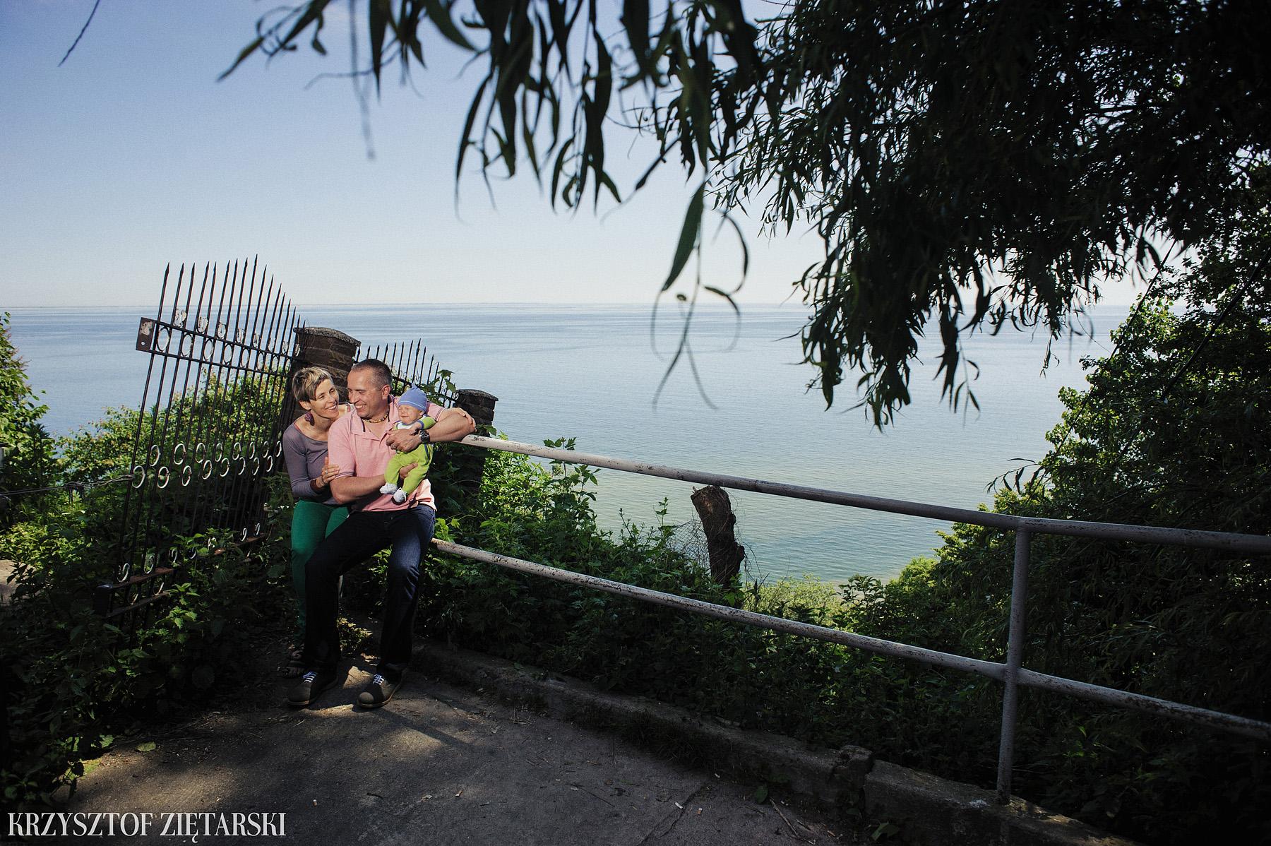 Ania, Karol i Oskarek - Fotografia rodzinna Gdynia - rodzinna sesja fotograficzna w prezencie - 7.