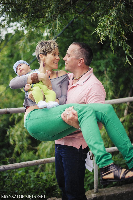 Ania, Karol i Oskarek - Fotografia rodzinna Gdynia - rodzinna sesja fotograficzna w prezencie - 11.