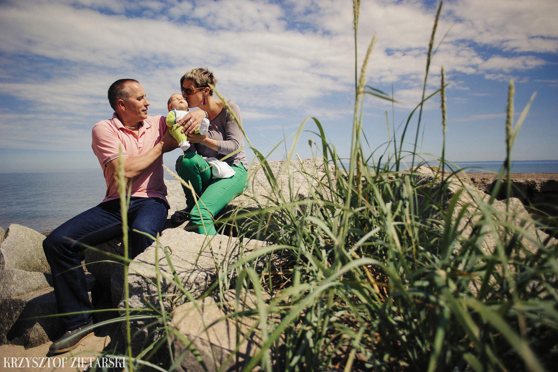 Ania, Karol i Oskarek - Fotografia rodzinna Gdynia - rodzinna sesja fotograficzna w prezencie - 14.