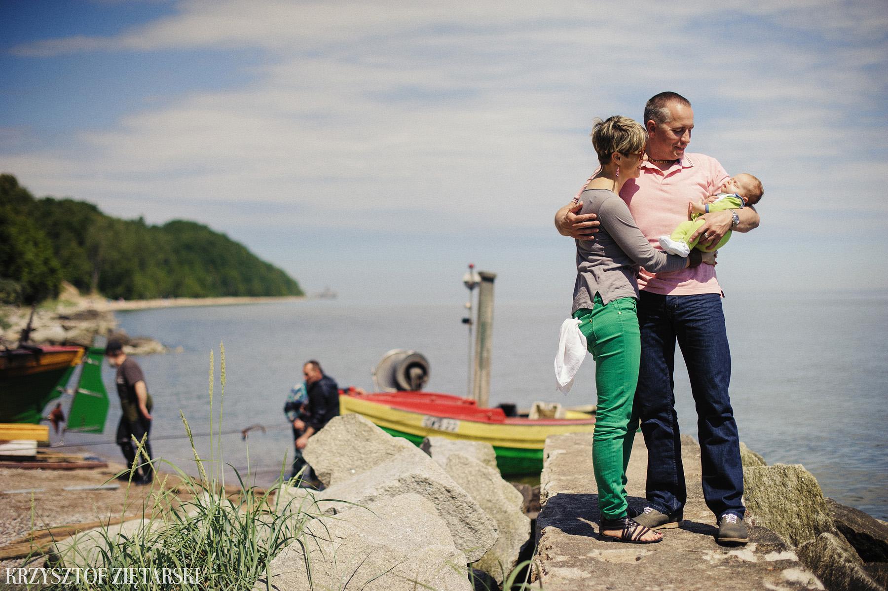 Ania, Karol i Oskarek - Fotografia rodzinna Gdynia - rodzinna sesja fotograficzna w prezencie - 16.