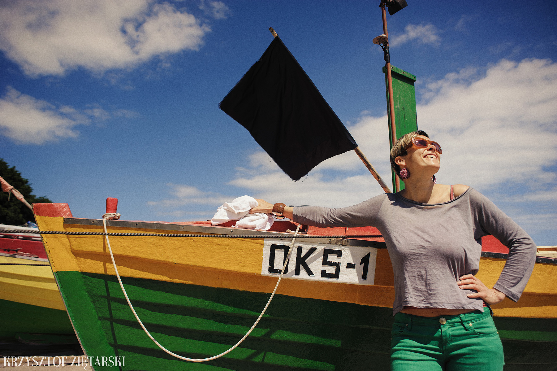Ania, Karol i Oskarek - Fotografia rodzinna Gdynia - rodzinna sesja fotograficzna w prezencie - 18.
