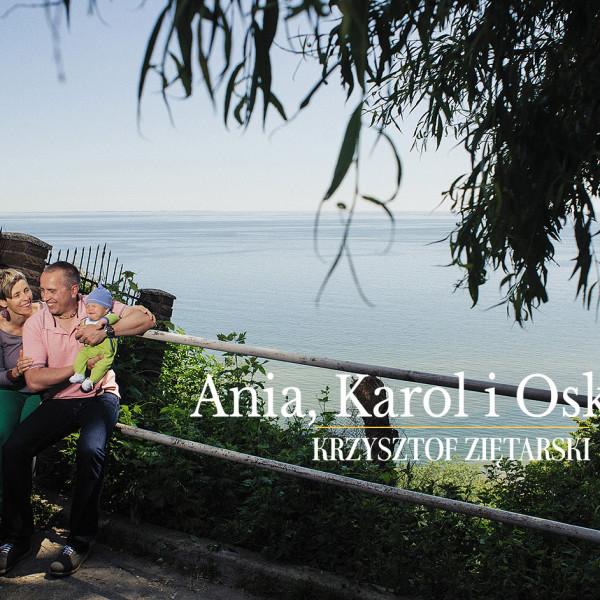 Ania, Karol i Oskarek - Fotografia rodzinna Gdynia