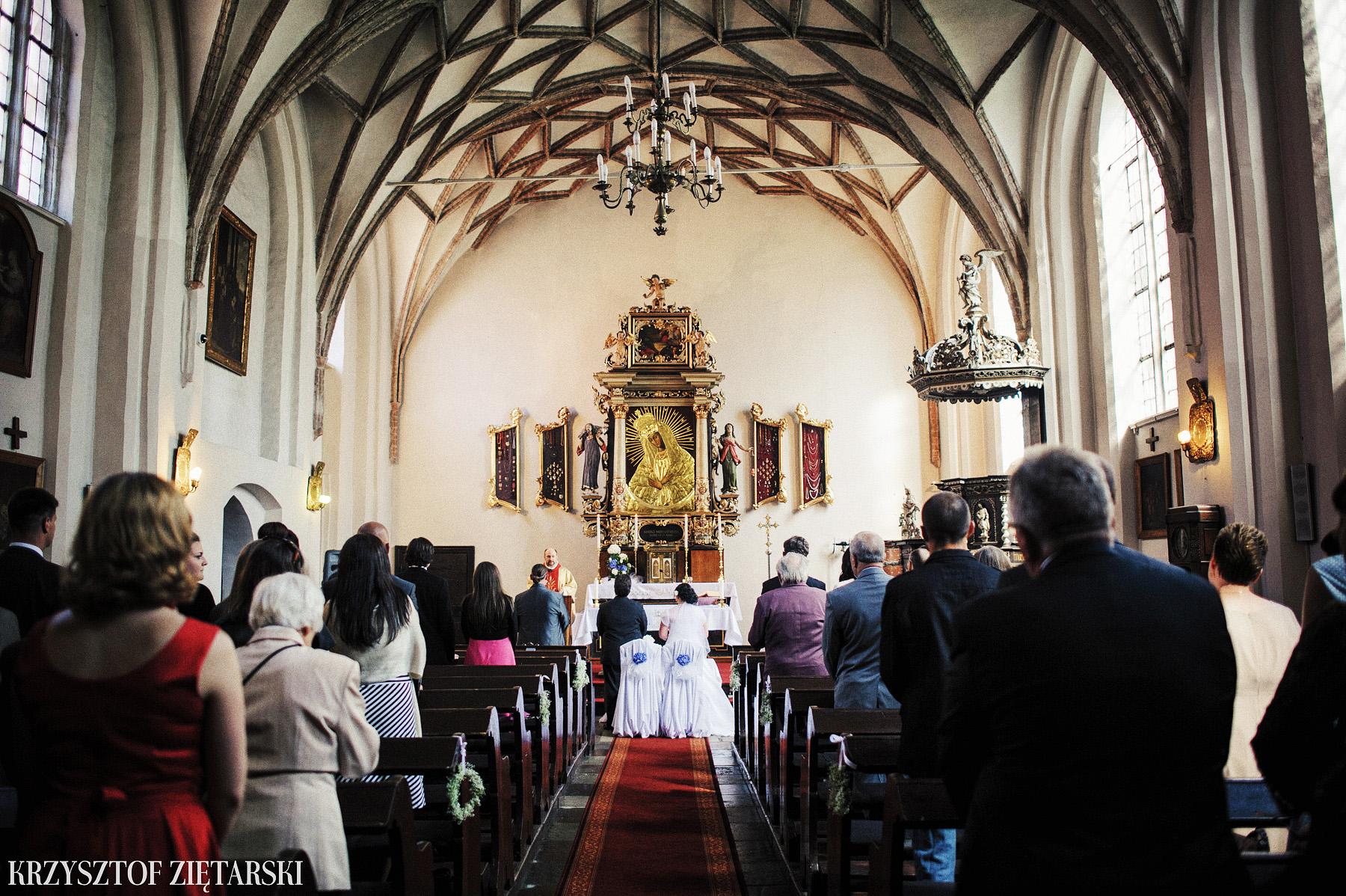 Kamila i Olaf - Fotografia ślubna Gdańsk, kaplica św.Anny, wesele Elipsa Stężyca - 12.
