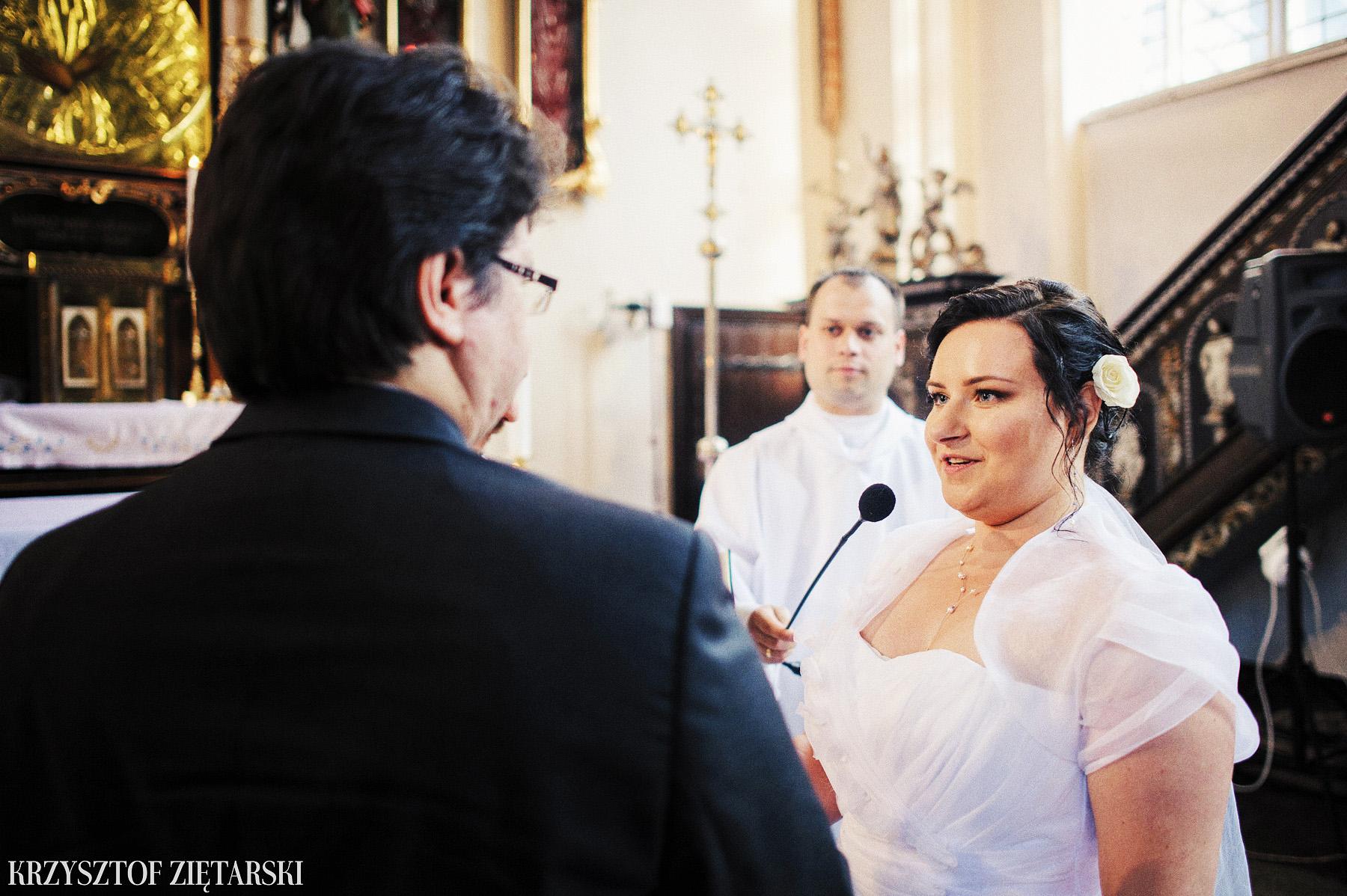 Kamila i Olaf - Fotografia ślubna Gdańsk, kaplica św.Anny, wesele Elipsa Stężyca - 14.