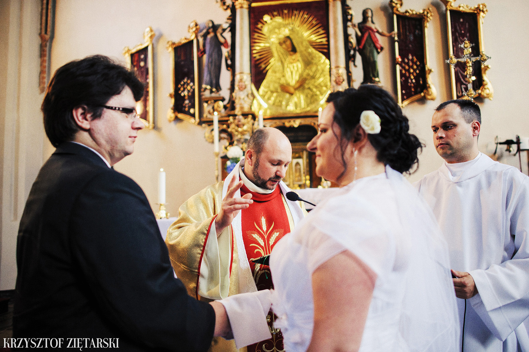 Kamila i Olaf - Fotografia ślubna Gdańsk, kaplica św.Anny, wesele Elipsa Stężyca - 15.