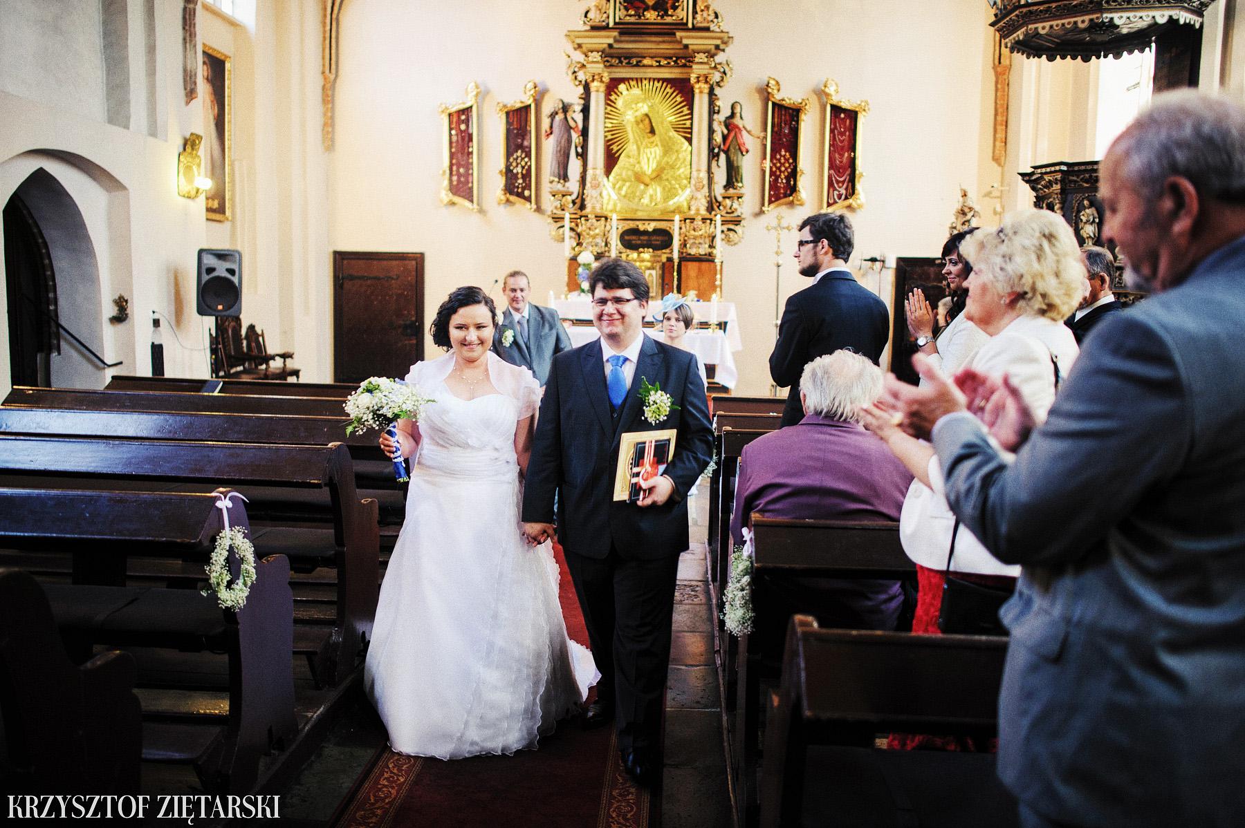 Kamila i Olaf - Fotografia ślubna Gdańsk, kaplica św.Anny, wesele Elipsa Stężyca - 21.