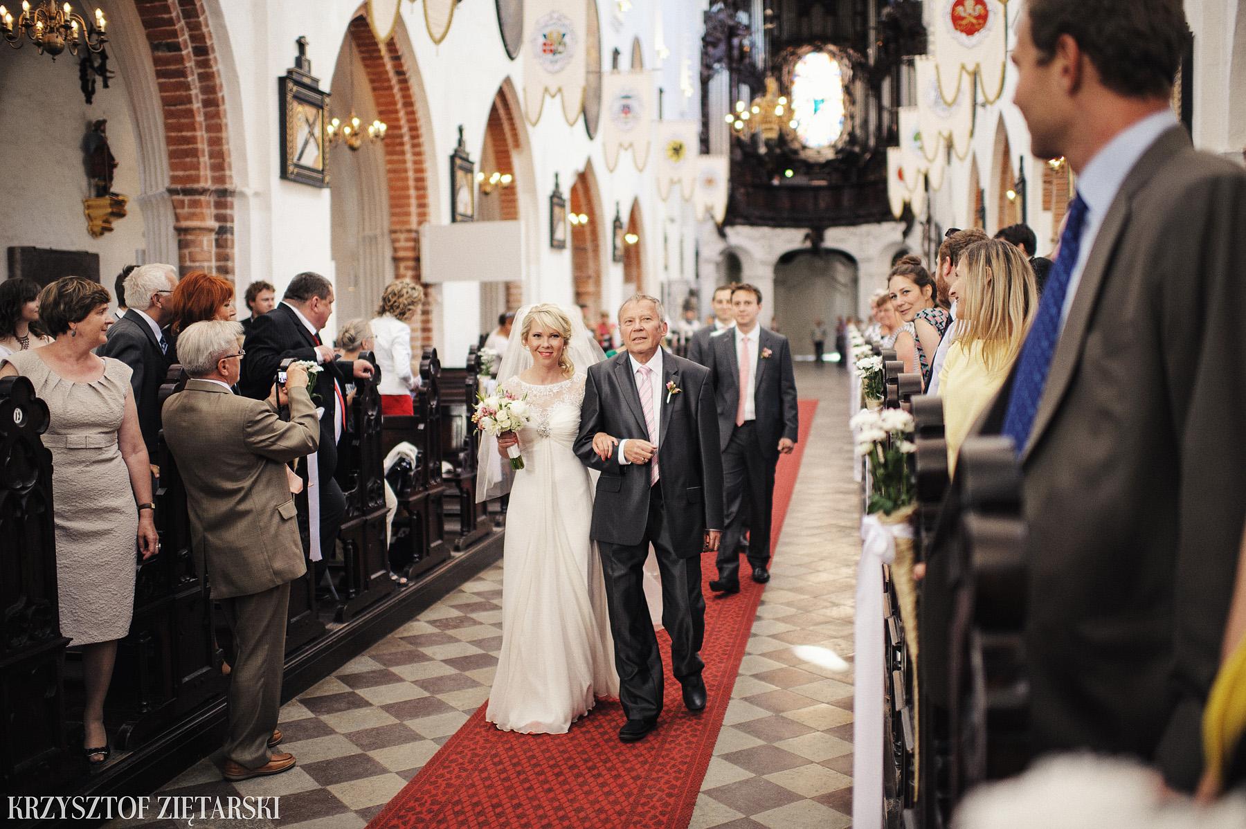 Marysia i Ollie - Fotografia ślubna Gdańsk, Katedra Oliwska, wesele Hotel Mera Sopot, plener Gdynia Orłowo - 12.