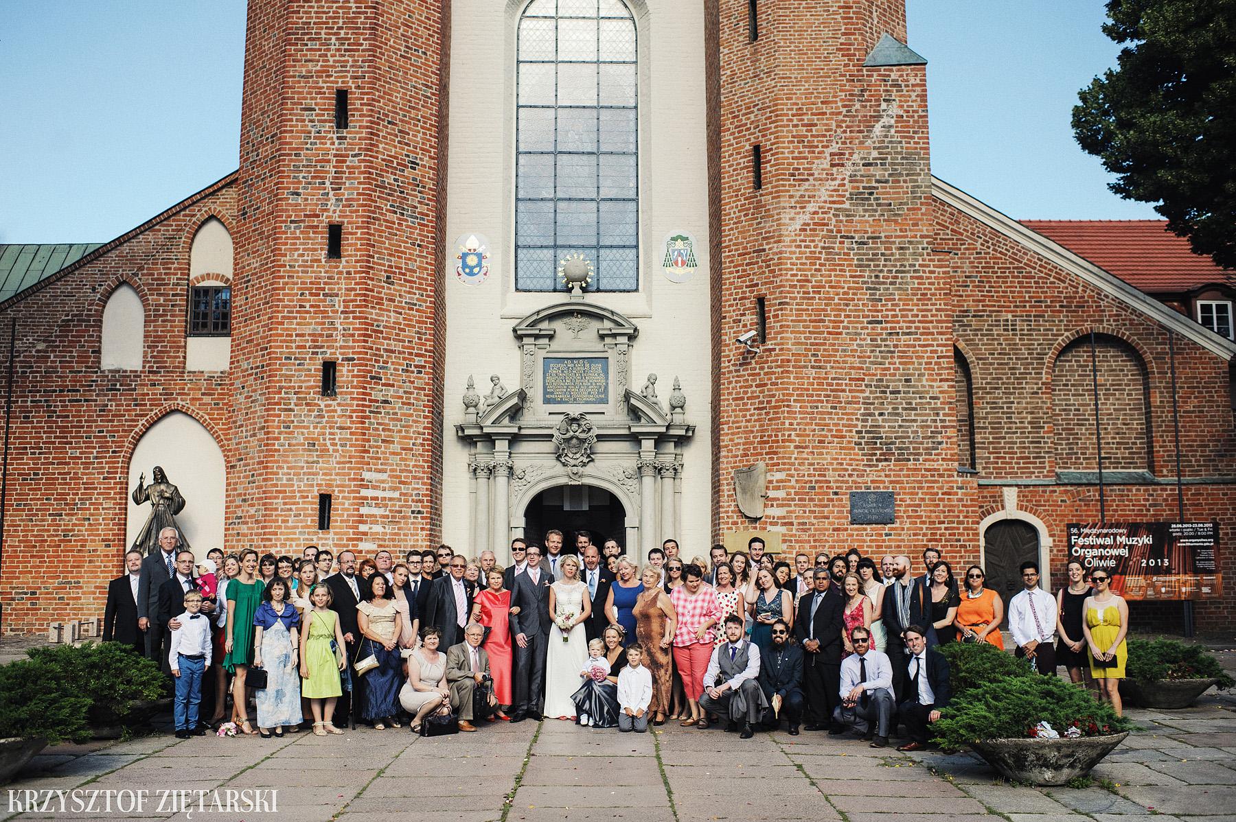 Marysia i Ollie - Fotografia ślubna Gdańsk, Katedra Oliwska, wesele Hotel Mera Sopot, plener Gdynia Orłowo - 28.