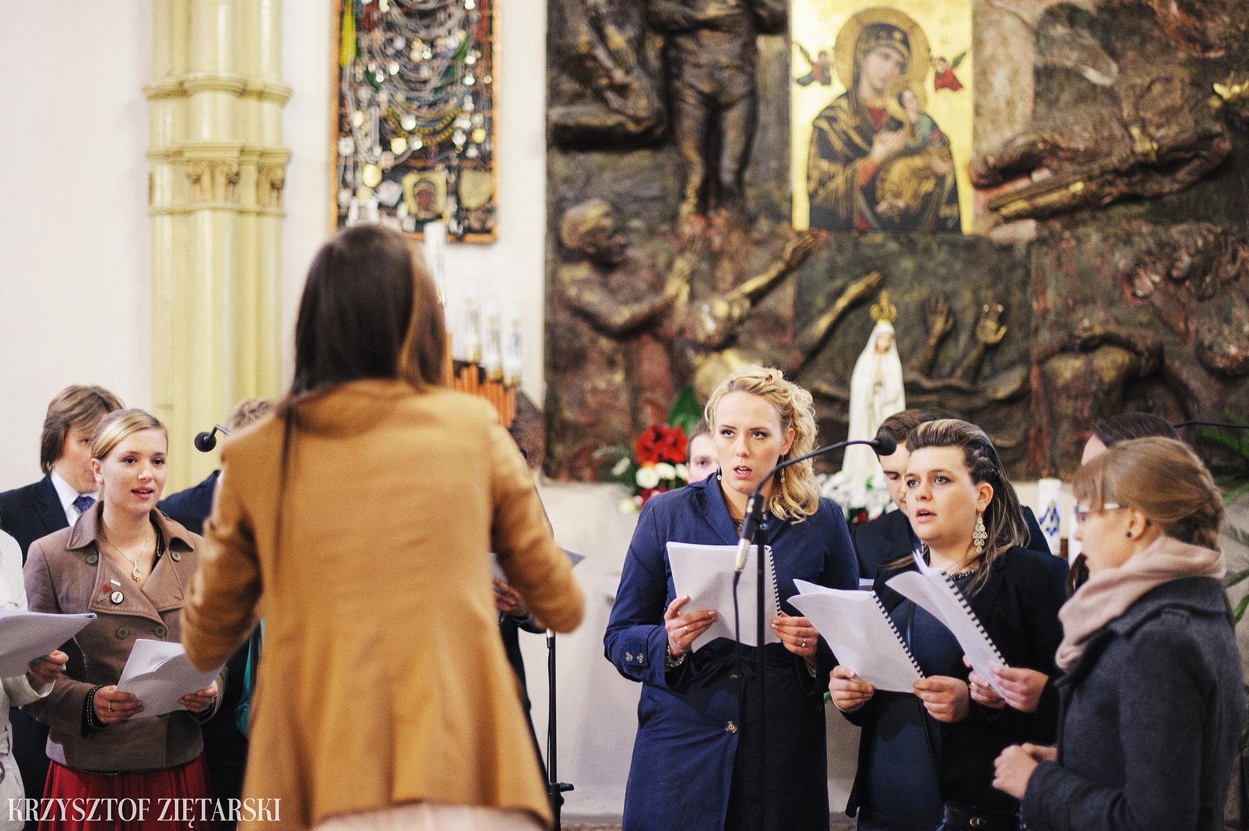 Agnieszka i Jacek - Fotografia ślubna Słupsk, kościół NSJ, wesele Gościniec Młyn Słupski, plener ślubny w Gdyni - 14.