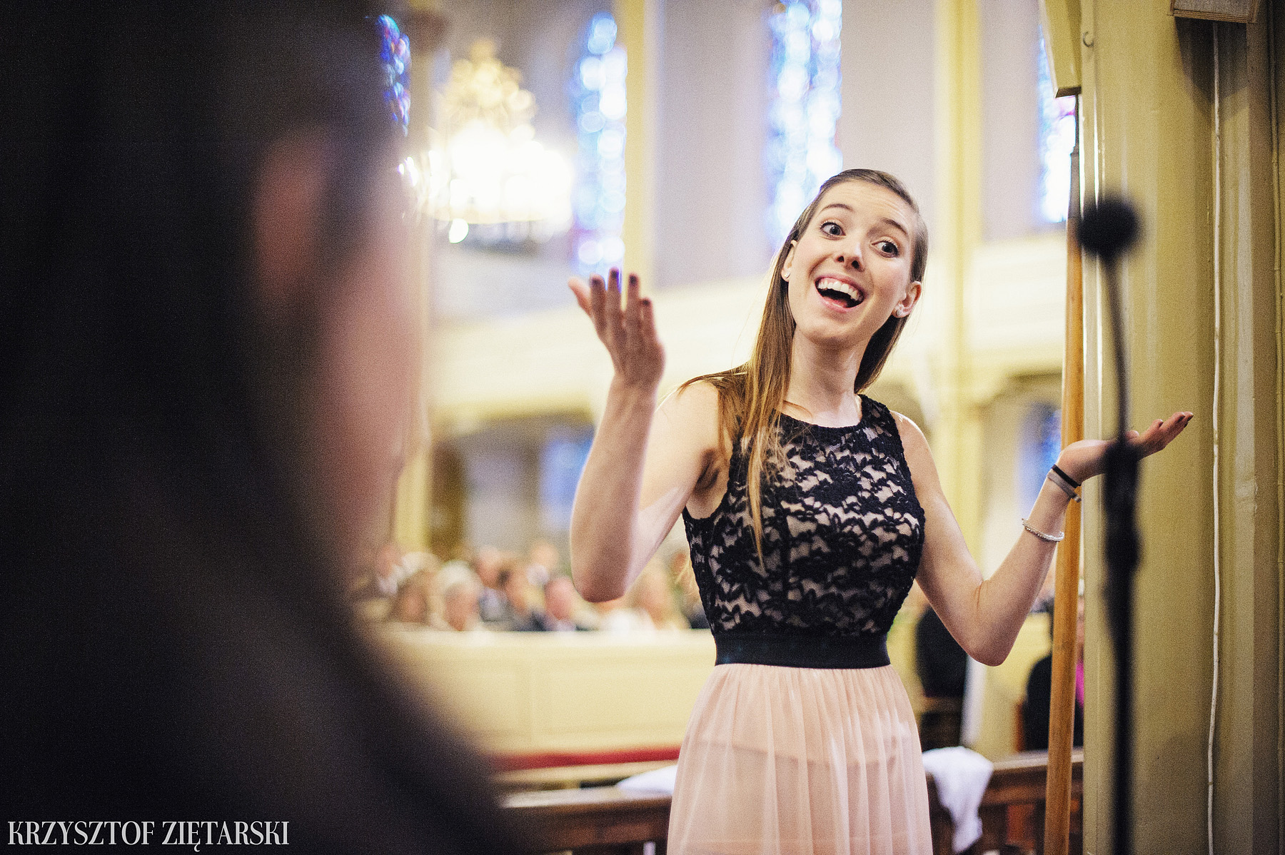 Agnieszka i Jacek - Fotografia ślubna Słupsk, kościół NSJ, wesele Gościniec Młyn Słupski, plener ślubny w Gdyni - 15.
