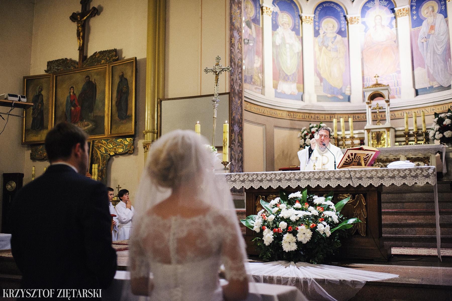 Agnieszka i Jacek - Fotografia ślubna Słupsk, kościół NSJ, wesele Gościniec Młyn Słupski, plener ślubny w Gdyni - 20.