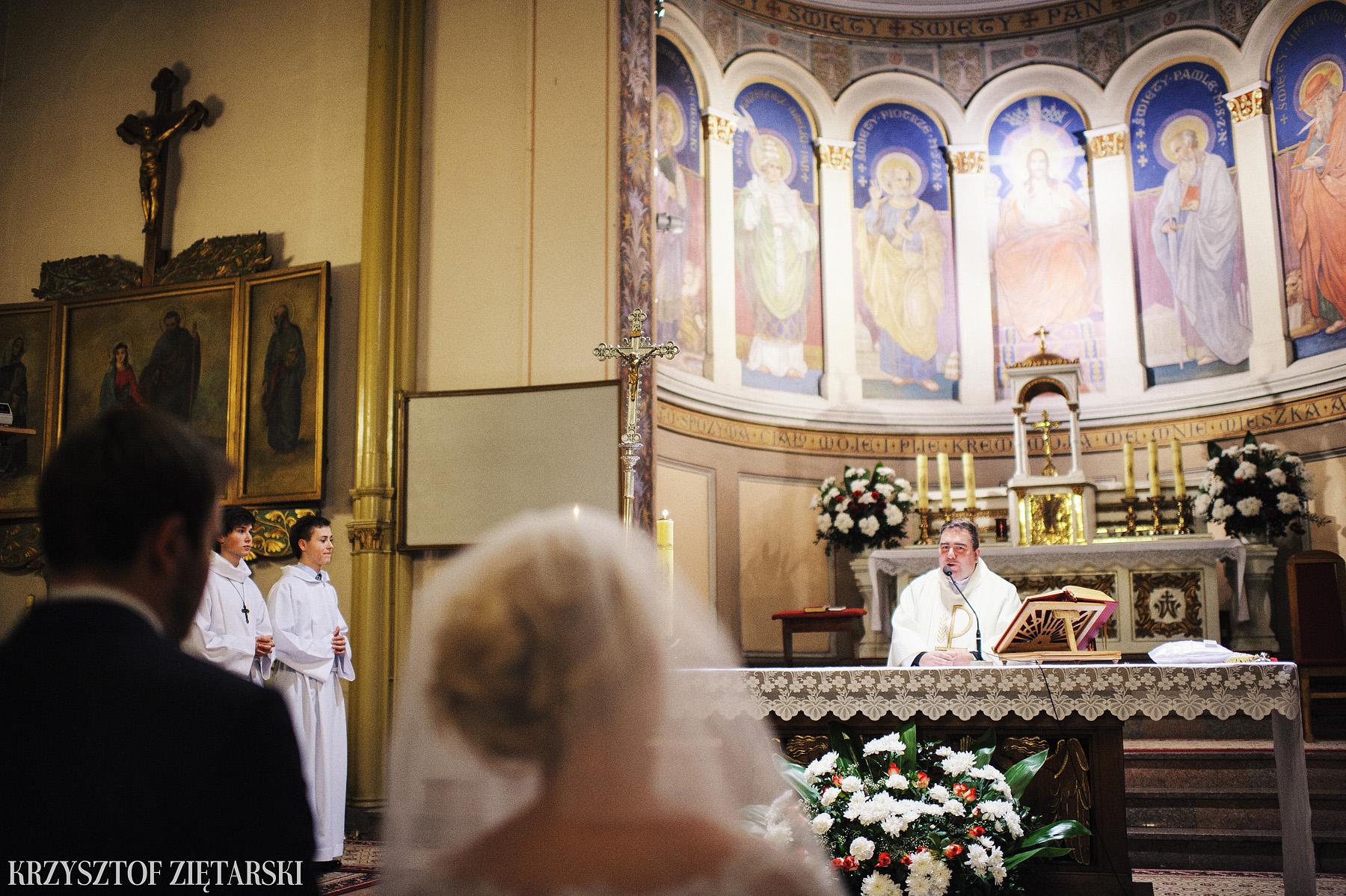 Agnieszka i Jacek - Fotografia ślubna Słupsk, kościół NSJ, wesele Gościniec Młyn Słupski, plener ślubny w Gdyni - 24.