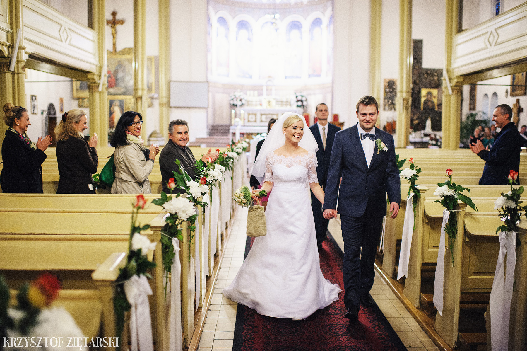 Agnieszka i Jacek - Fotografia ślubna Słupsk, kościół NSJ, wesele Gościniec Młyn Słupski, plener ślubny w Gdyni - 26.