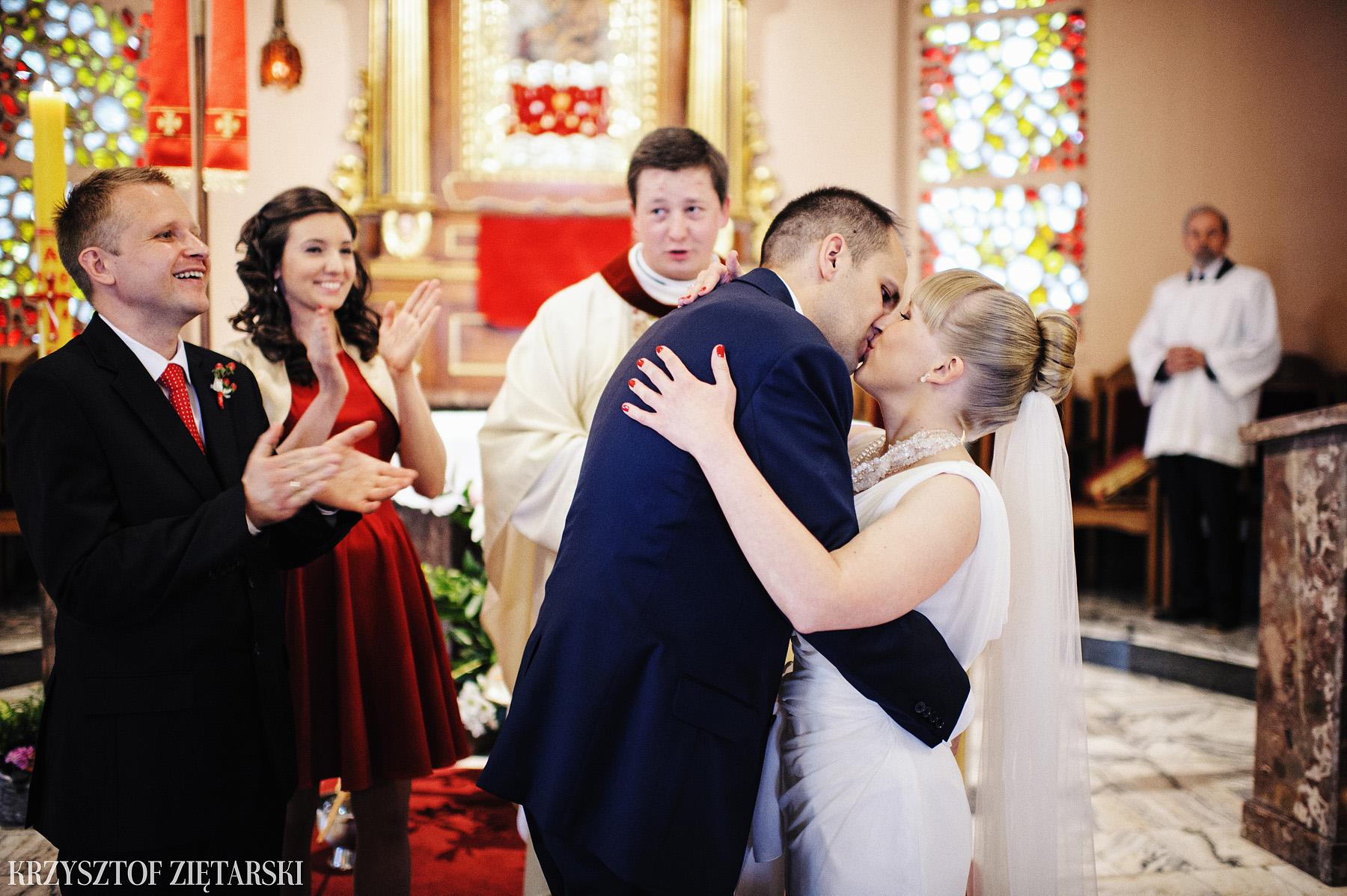 Ola i Grzegorz - Fotografia ślubna Gdynia, Kolegiata NMP, wesele restauracja COCO, plener na Darze Pomorza - 22.
