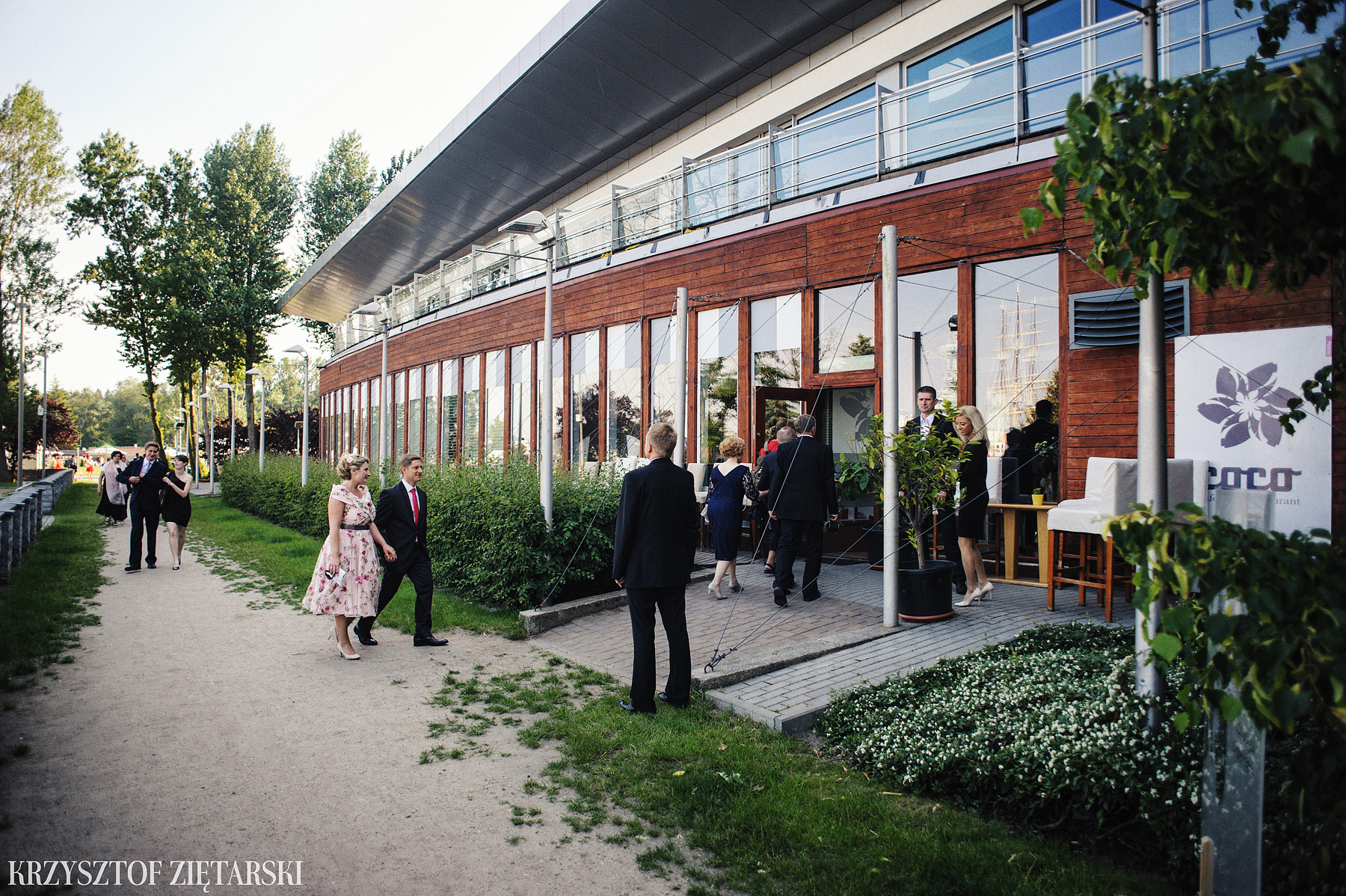 Ola i Grzegorz - Fotografia ślubna Gdynia, Kolegiata NMP, wesele restauracja COCO, plener na Darze Pomorza - 34.