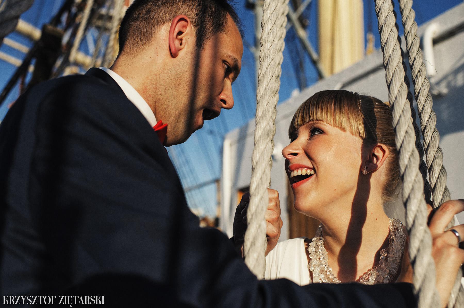 Ola i Grzegorz - Fotografia ślubna Gdynia, Kolegiata NMP, wesele restauracja COCO, plener na Darze Pomorza - 87.