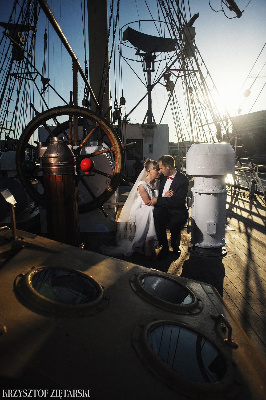 Ola i Grzegorz - Fotografia ślubna Gdynia, Kolegiata NMP, wesele restauracja COCO, plener na Darze Pomorza - 90.