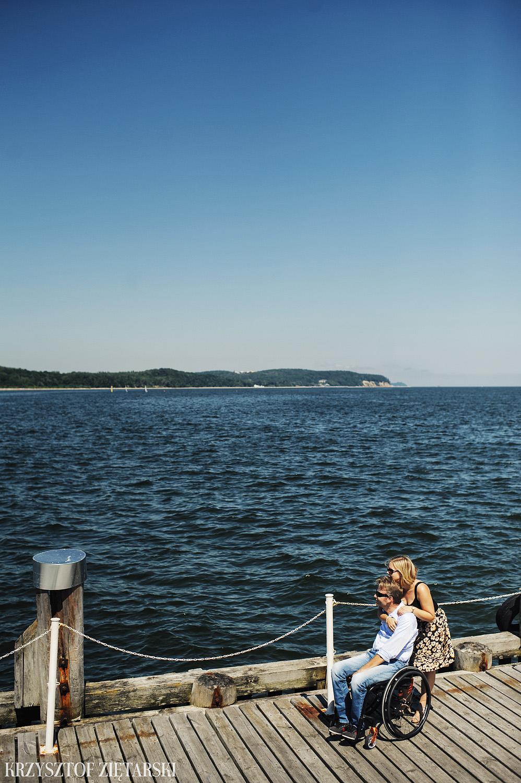 Ania i Mikkel - sesja fotograficzna na rocznicę ślubu w Sopocie, prezent na rocznicę ślubu - 6.