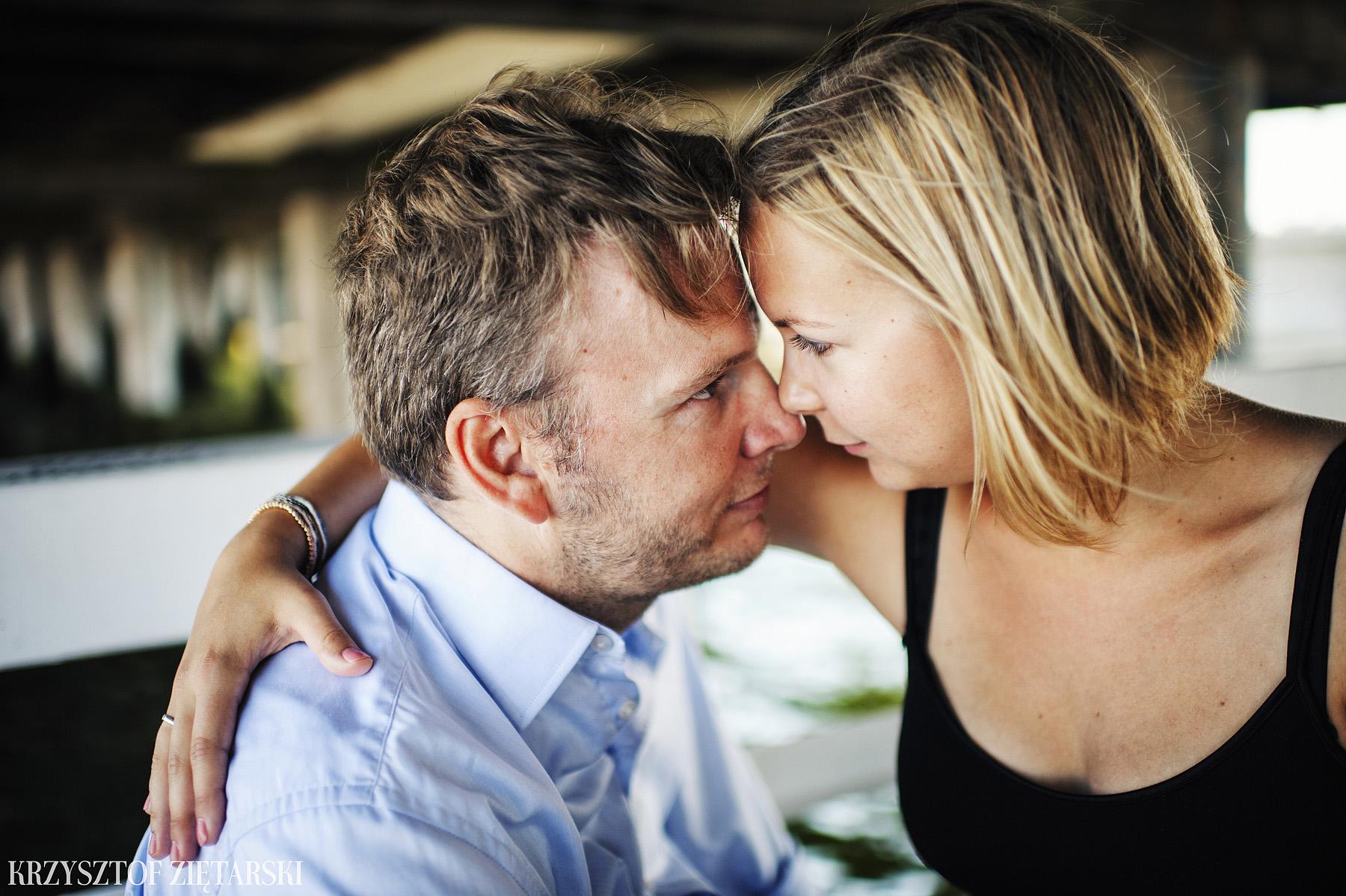Ania i Mikkel - sesja fotograficzna na rocznicę ślubu w Sopocie, prezent na rocznicę ślubu - 7.