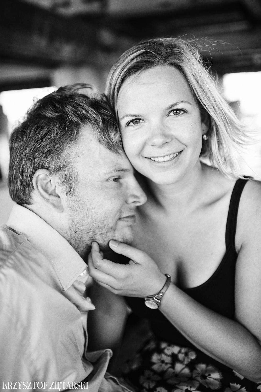 Ania i Mikkel - sesja fotograficzna na rocznicę ślubu w Sopocie, prezent na rocznicę ślubu - 9.