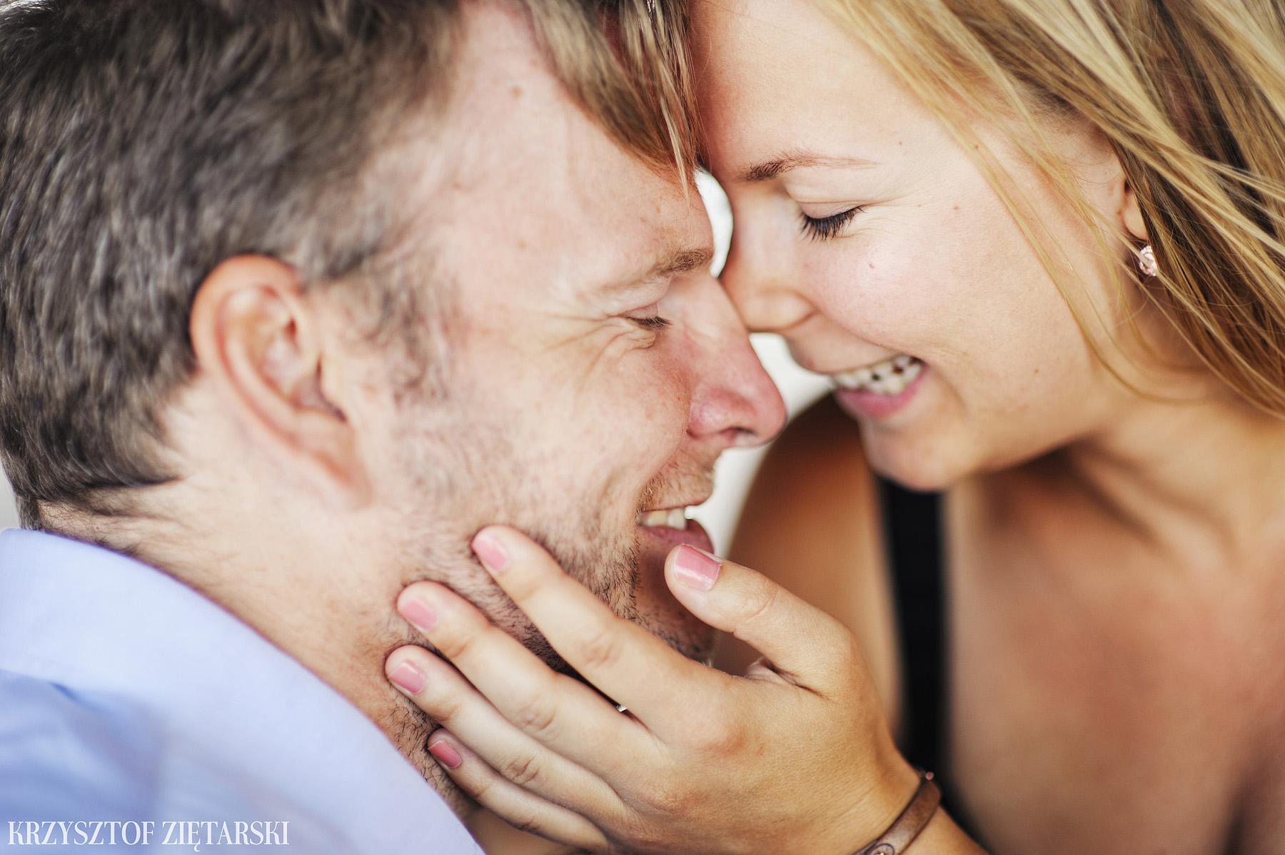 Ania i Mikkel - sesja fotograficzna na rocznicę ślubu w Sopocie, prezent na rocznicę ślubu - 12.