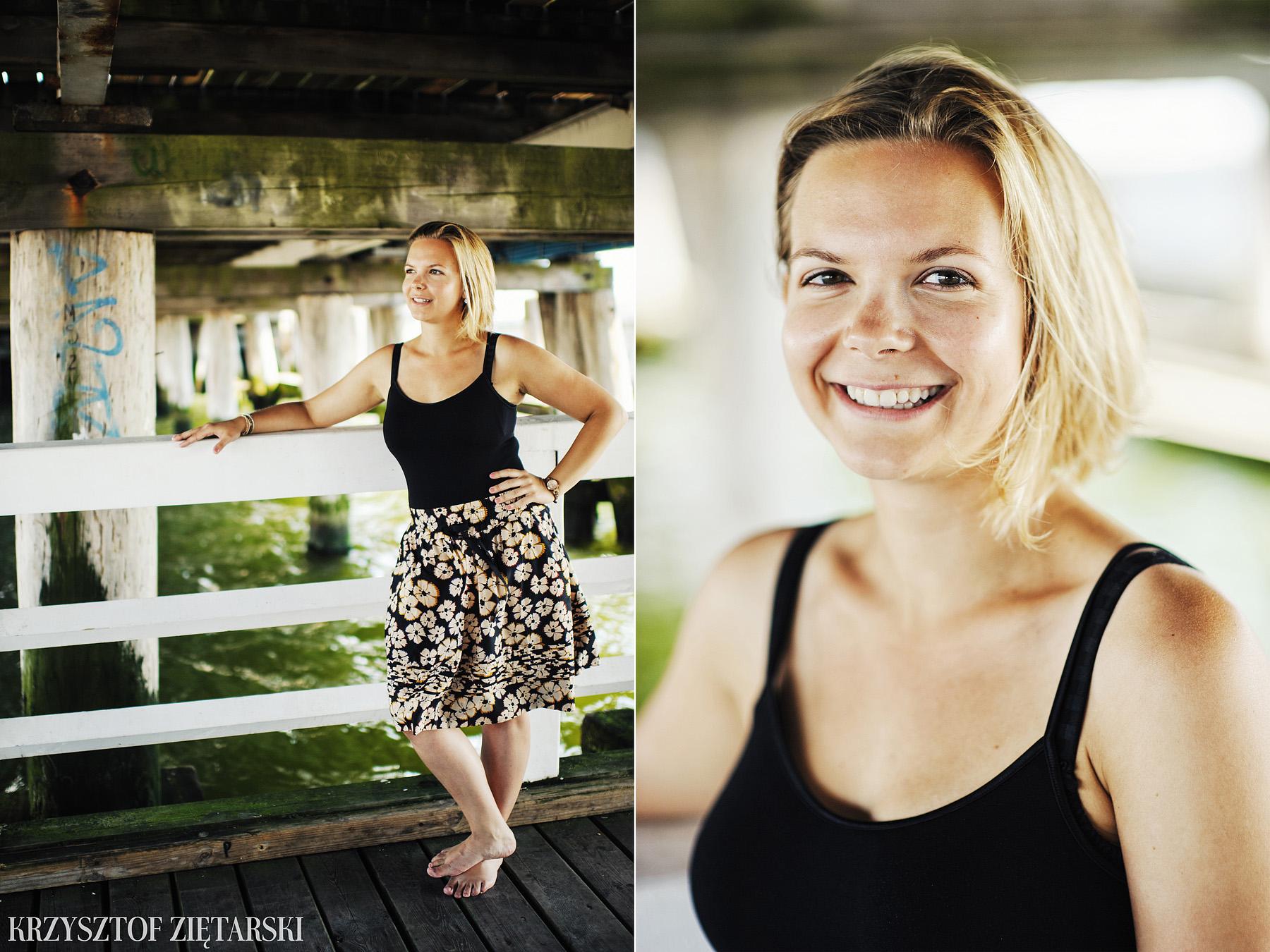 Ania i Mikkel - sesja fotograficzna na rocznicę ślubu w Sopocie, prezent na rocznicę ślubu - 14.