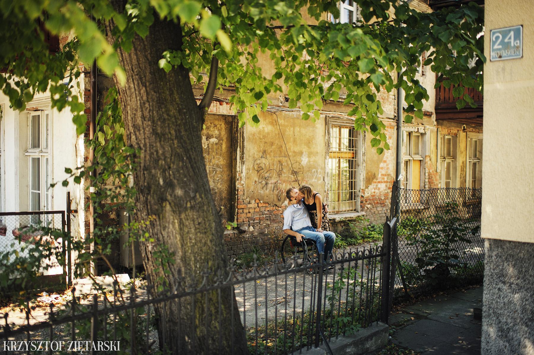 Ania i Mikkel - sesja fotograficzna na rocznicę ślubu w Sopocie, prezent na rocznicę ślubu - 18.