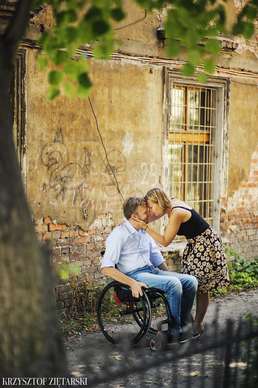 Ania i Mikkel - sesja fotograficzna na rocznicę ślubu w Sopocie, prezent na rocznicę ślubu - 19.