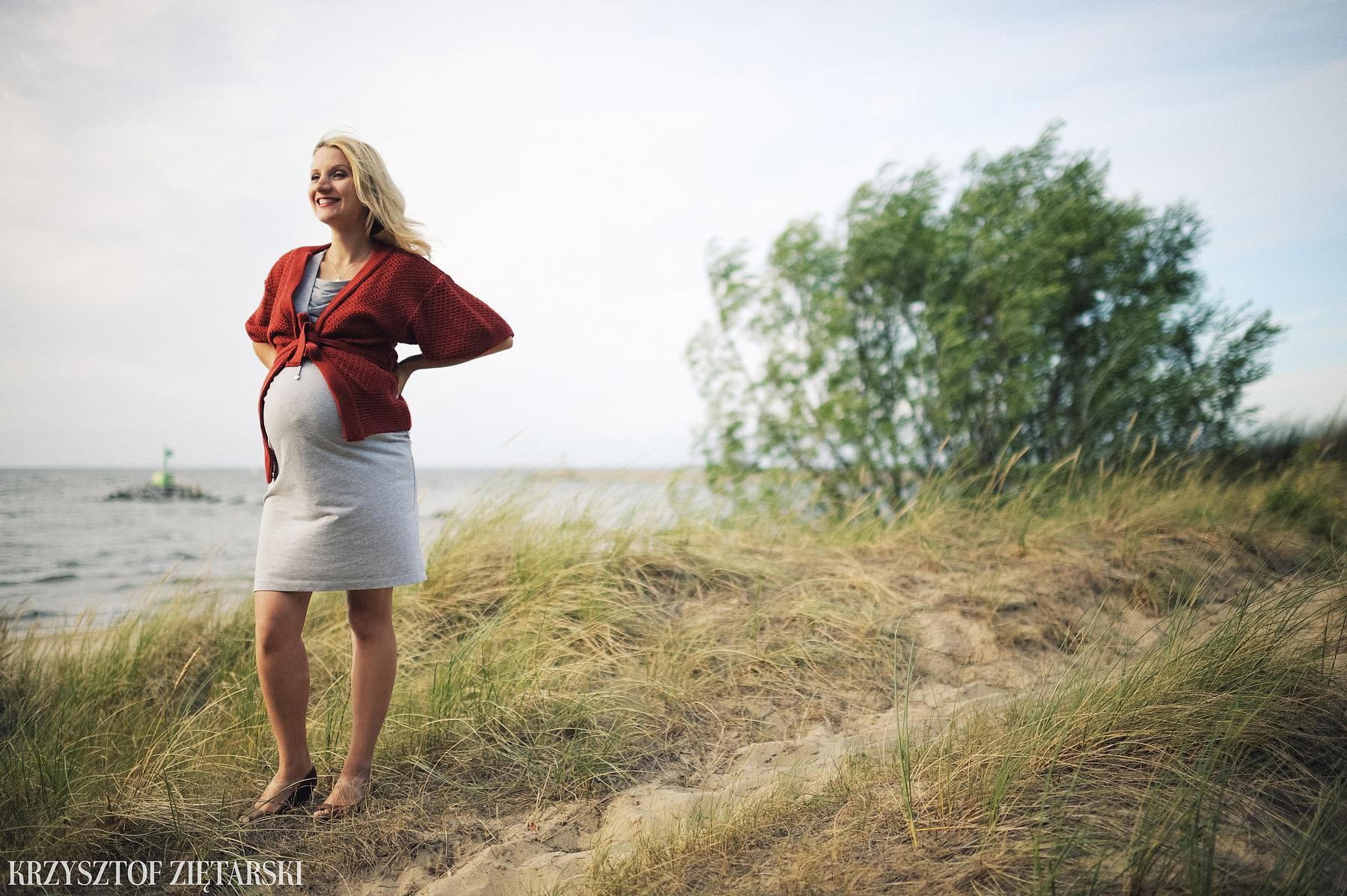 Sesja ciążowa Gdańsk - fotografia rodzinna Gdańsk