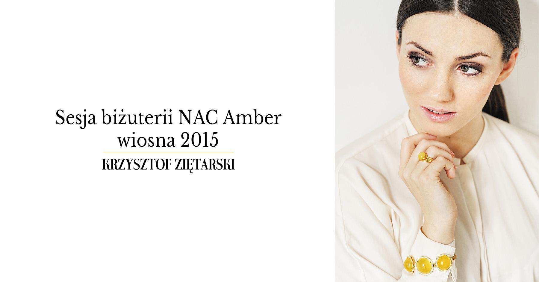 Sesja biżuterii bursztynowej NAC Amber - wiosna 2015