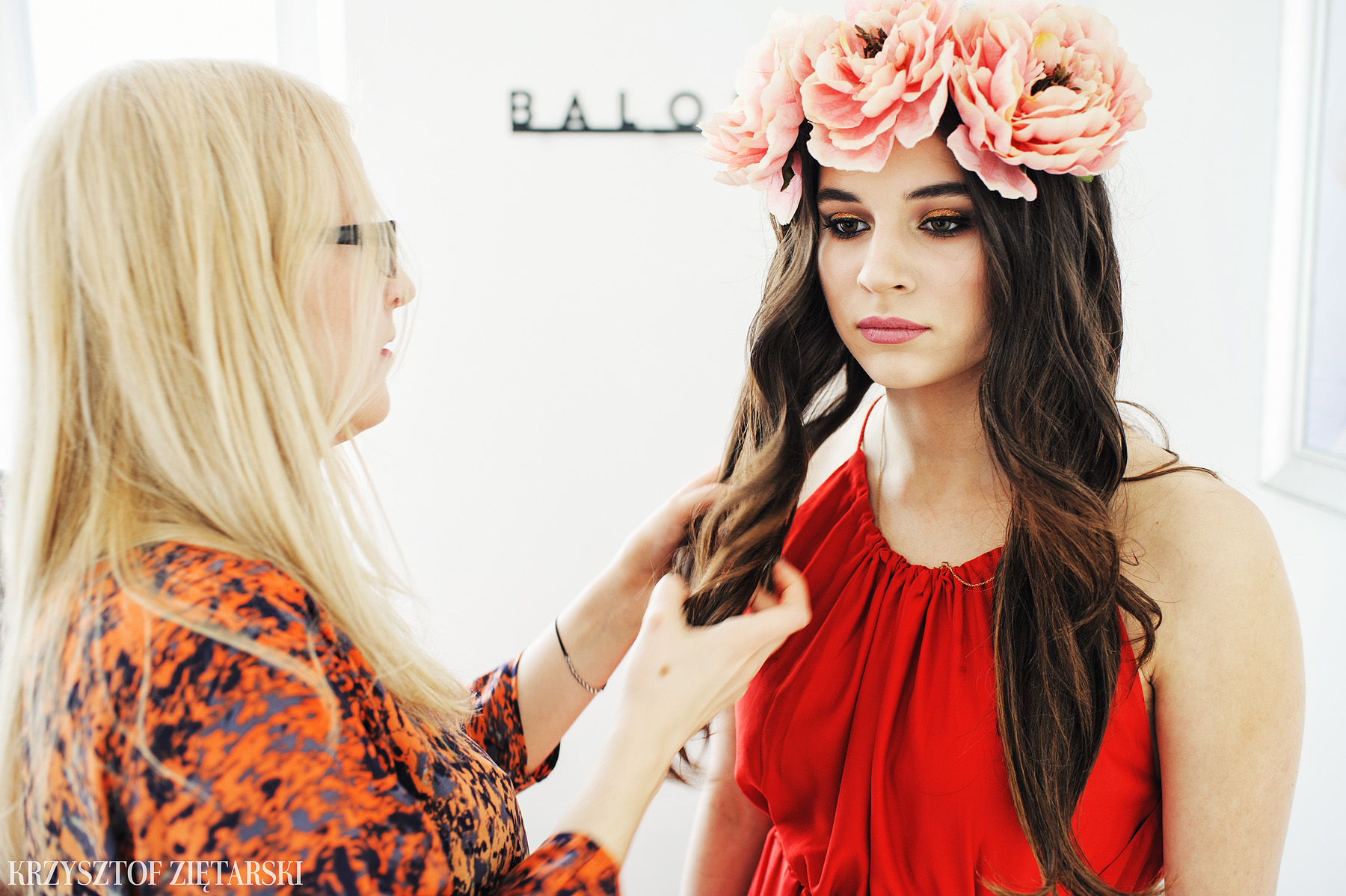 Konkurs makijażowy Balola - fotografia eventów Gdańsk, Sopot -