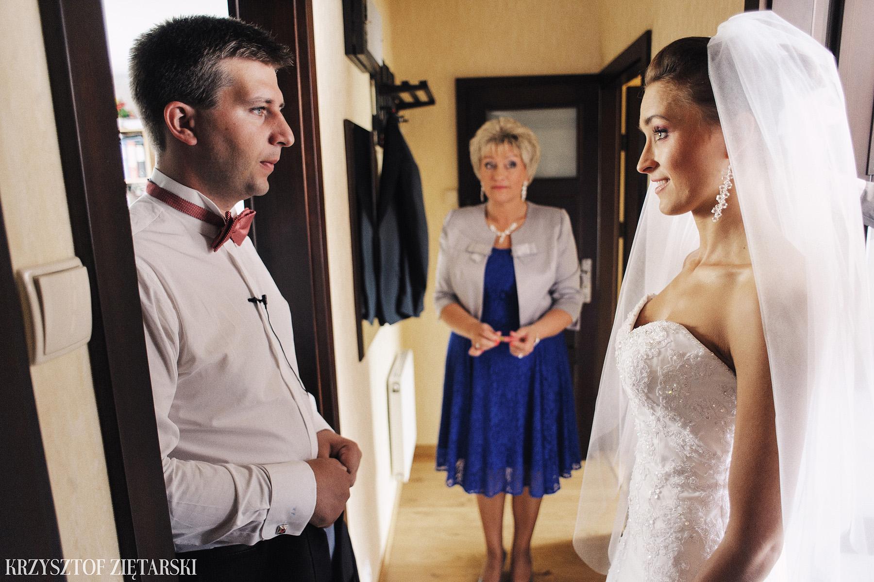 Karolina i Jacek - Fotografia ślubna Gdańsk, Chwaszczyno, Gościniec dla Przyjaciół Wyczechowo Hilary - 5.